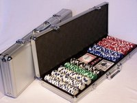Poker Chips 500pc Aluminium Case