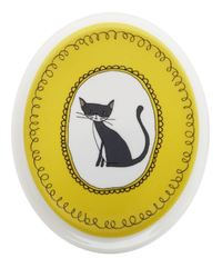 Maxwell & Williams: Purrfect Oval Plate - Yellow (16cm)