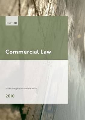 Commercial Law: LPC Guide: 2010 by Robert Bradgate image