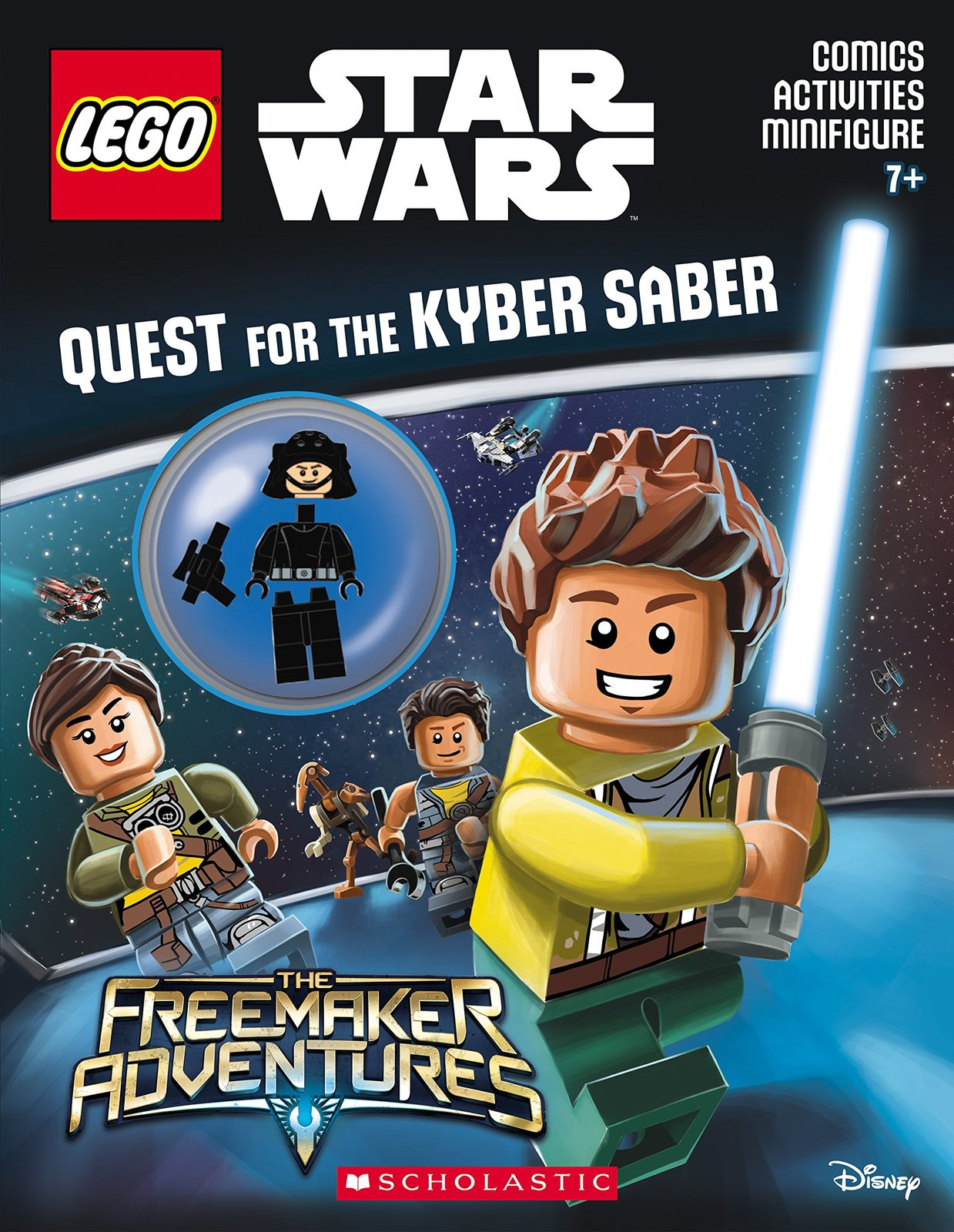 quest for the kyber saber lego star wars activity book