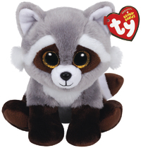 Ty Beanie Babies: Bandit Raccoon - Small Plush