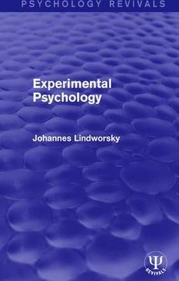 Experimental Psychology by Johannes Lindworsky image