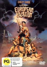 National Lampoon's European Vacation on DVD