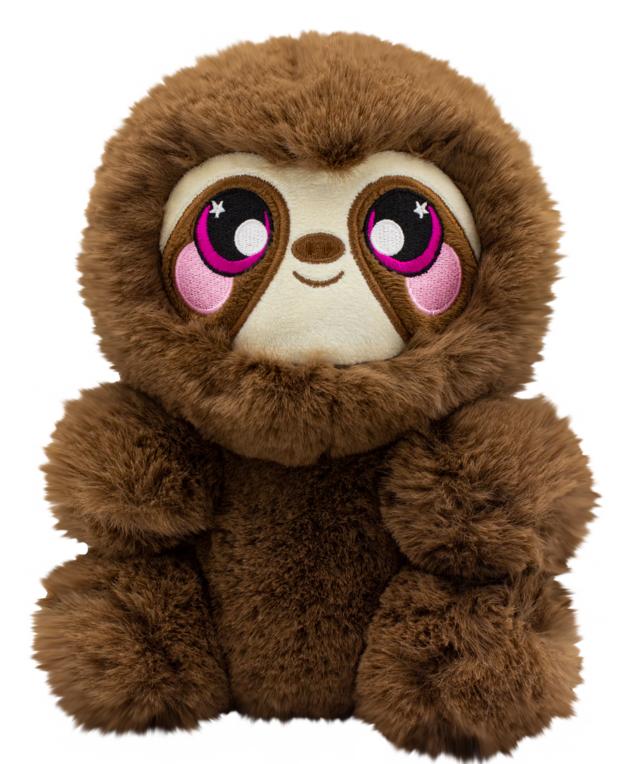Squeezamals: S3 - Deluxe Squishy Plush (Sloth)