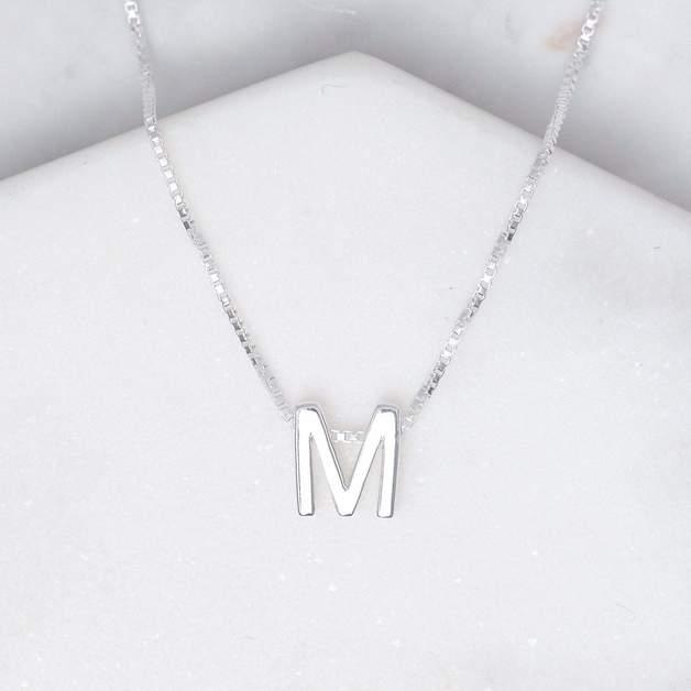 Midsummer Star: Alphabet Necklace - M