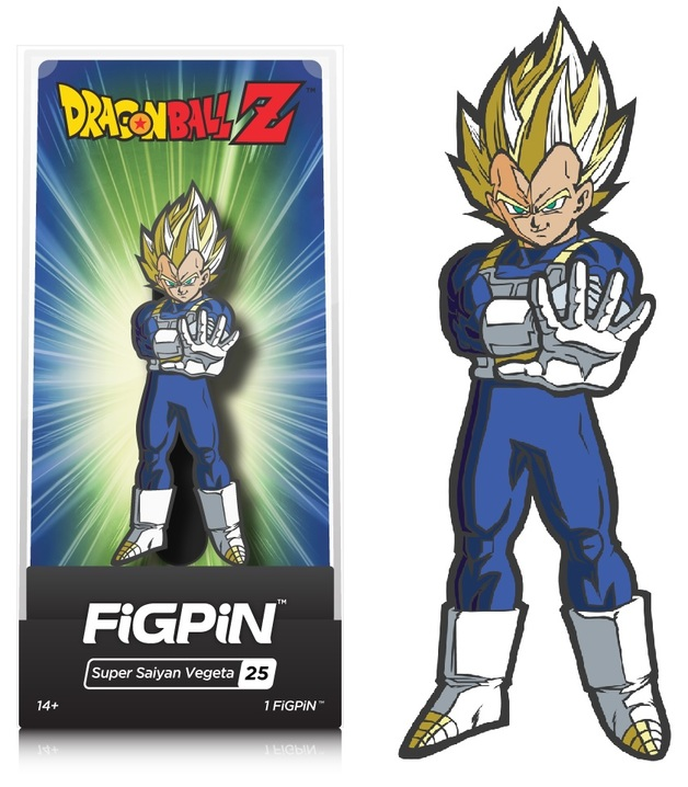 Dragon Ball Z: SS Vegeta (#25) - Collectors FIGPiN