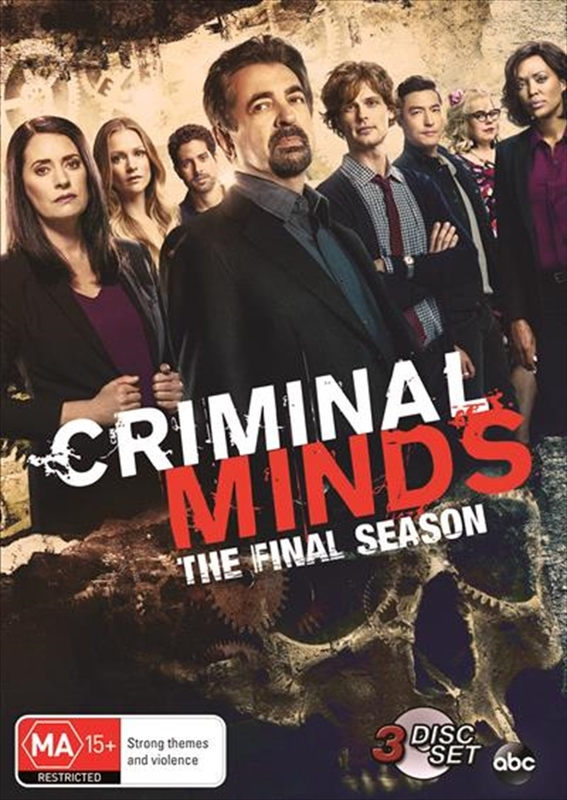 Criminal Minds: The Complete Fifteenth Season on DVD