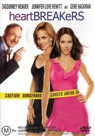 Heartbreakers on DVD image
