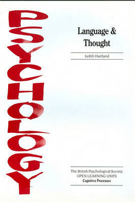 Language and Thought by Judith Hartland image