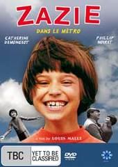 Zazie Dans Le Metro (Zazie In The Underground) on DVD