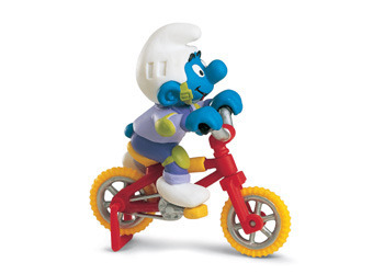 The Smurfs - Biker Smurf