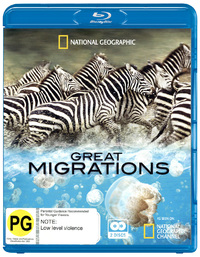 National Geographic: Great Migrations (2 Disc Set) on Blu-ray