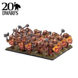 Kings of War Dwarf Ironclad Regiment