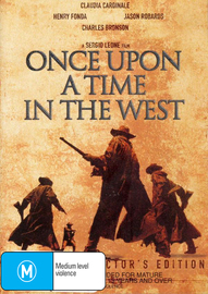 Once Upon a Time in the West (2 Disc Set) on DVD