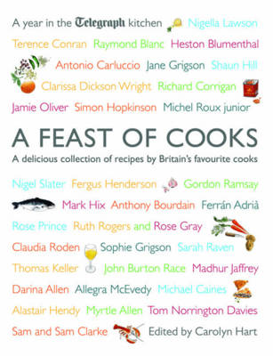 "A Feast of Cooks: A Year in ""The Telegraph"" Kitchen by Carolyn Hart image"