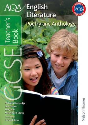 AQA GCSE English Literature Poetry and Anthology Teacher's Book by Jane Flintoft image