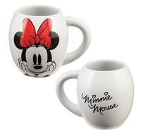 Disney - Minnie Mouse Oval Ceramic Mug