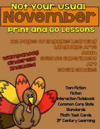 Not Your Usual November Print and Go Lessons by Elizabeth Chapin-Pinotti