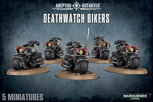 Warhammer 40,000 Deathwatch Bikers