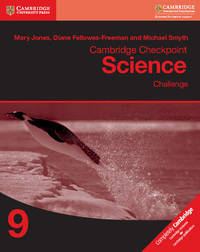 Cambridge Checkpoint Science Challenge Workbook 9 by Mary Jones image