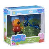 Peppa Pig: Figure and Accessory Pack - Freddie Fox & Bike