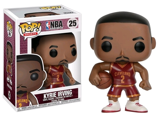 NBA - Kyrie Irving Pop! Vinyl Figure image