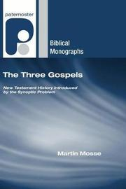 The Three Gospels by Martin Mosse image