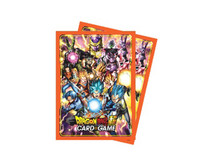 Dragon Ball Super Standard Size Sleeves 65ct All Stars
