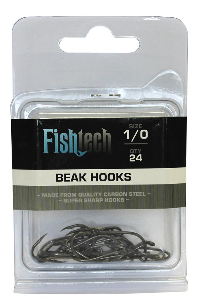 Fishtech Beak Hooks 1/0 (24 per pack) image