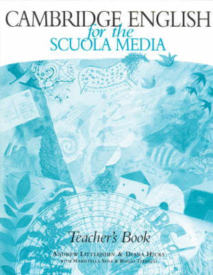 Cambridge English for the Scuola Media Teacher's book by Andrew Littlejohn image