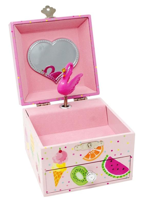 Pink Poppy: Fabulous Flamingo - Small Music Box (Pink)