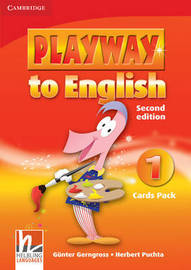 Playway to English Level 1 Cards Pack: Level 1 by Gunter Gerngross