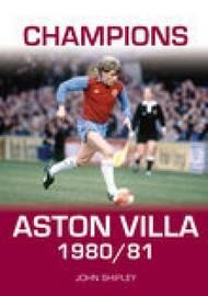Champions Aston Villa 1980/81 by John Shipley image