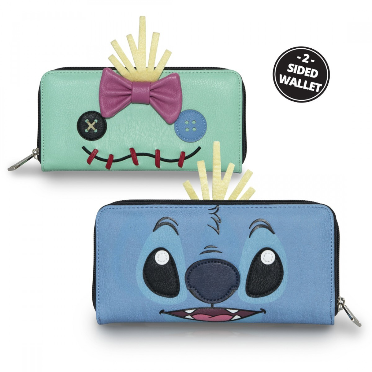 7fea6c761e4 Loungefly Disney Stitch and Scrump Wallet image ...
