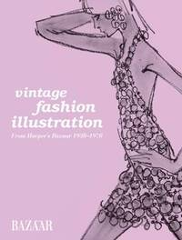 Vintage Fashion Illustration by Marnie Fogg