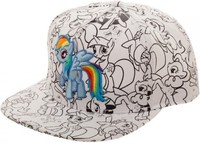 My Little Pony - DIY Snapback Cap
