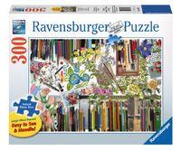 Ravensburger : Color with Me Puzzle Lge Format 300pc