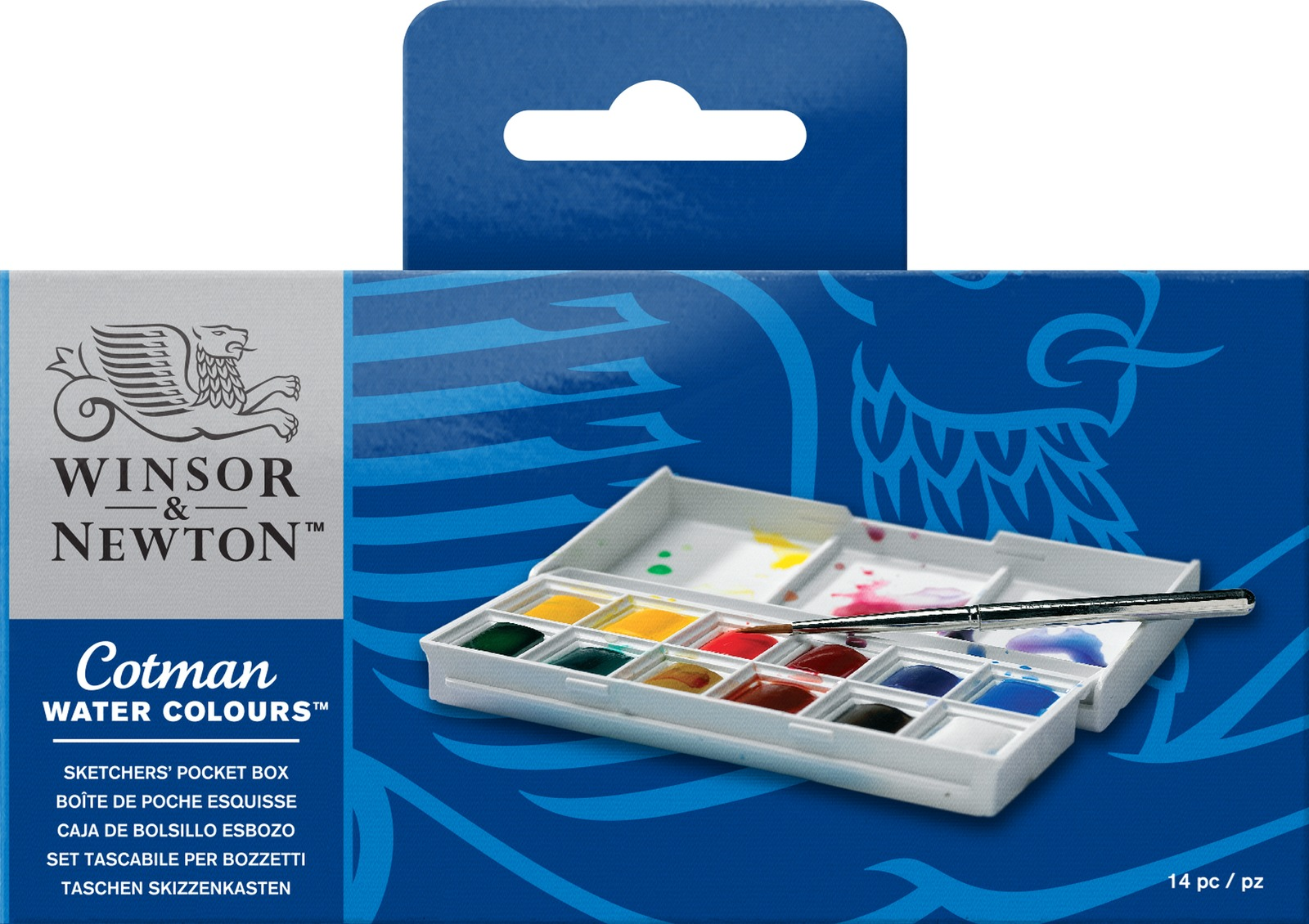 Winsor & Newton: Cotman Watercolour Sketchers' Pocket Box image