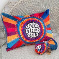 Natural Life: Cozy Pillow Sham - Good Vibes