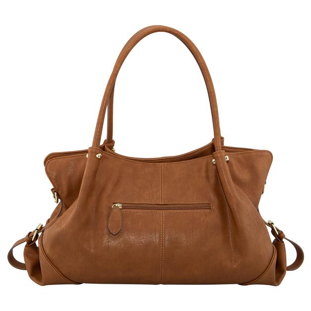 Isoki: Nappy Bag Anakie Satchel - Amber