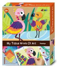 Avenir: My Tissue Work Of Art Kit - Flamingo