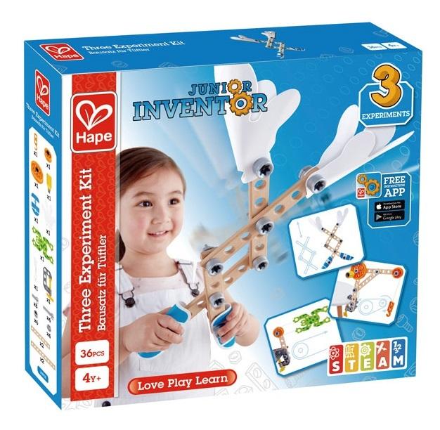 Hape: Junior Inventor - Three Experiment Kit