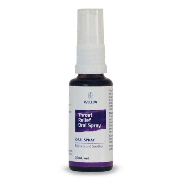 Weleda Throat Relief Oral Spray (30ml)