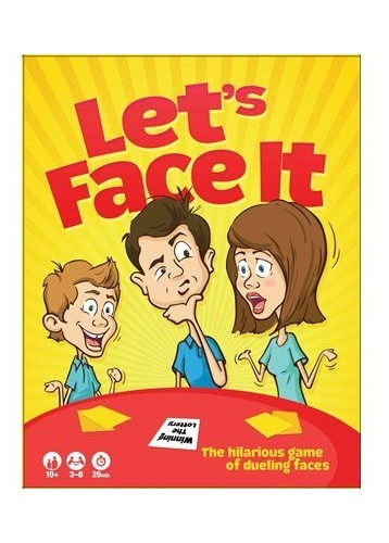 Lets Face It - Card Game