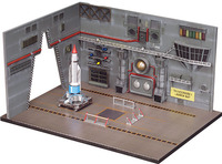 Thunderbird 1 & Launch Base 1:350 Model Kit