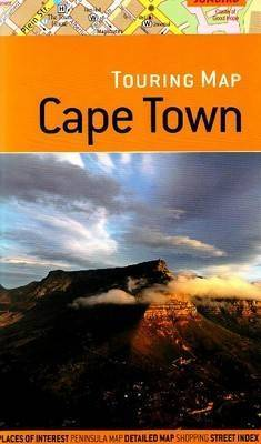 Touring Map of Cape Town: With Scenic Photographs of Popular Places by John Hall