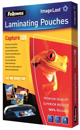 Fellowes Laminating Pouches - A3 - 125 Micron Pack 100