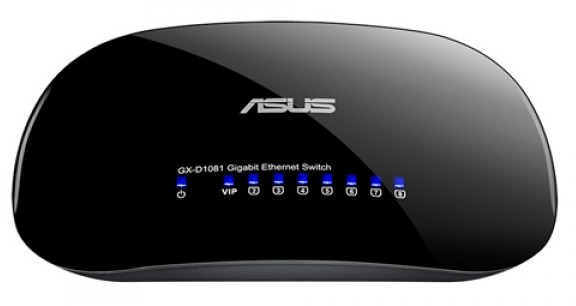 ASUS V3 8 Port Gigabit Desktop Switch