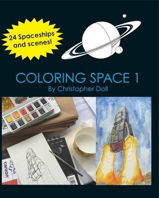 Coloring Space 1 by Christopher Doll