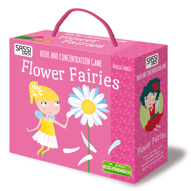 Sassi Book and Memory Matching Set (Flower Fairies)